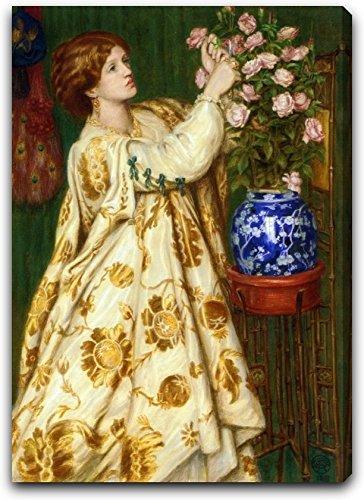 Monna Rosa by Dante Gabriel Rossetti