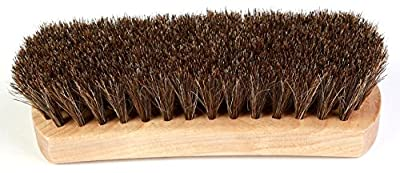 Kiwi Leather Shine Horsehair Brush