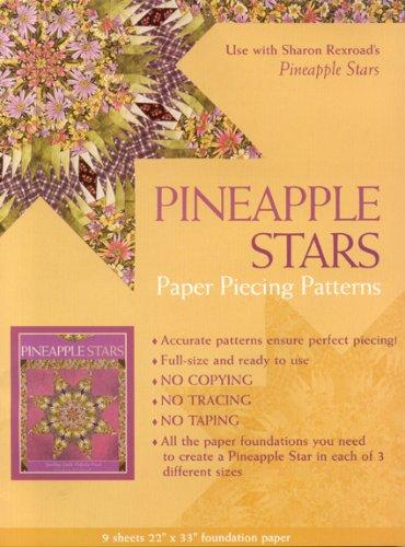 Pineapple Stars Paper Piecing Patterns PDF ePub ebook