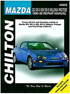 1997 mazda mx6 wiring schematic amazon com chilton manual for ford probe   mazda 323  mx 3  626  chilton manual for ford probe   mazda