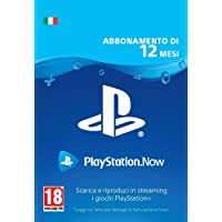 PlayStation Now - Abbonamento 12 Mesi | Codice download per PS4 - Account italiano