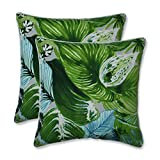 Pillow Perfect Outdoor/Indoor Lush Leaf Jungle