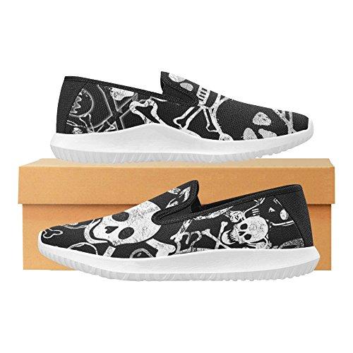 Mocassino Slip-on Donna Interestprint Sneakers Moda Multi Canvas 13
