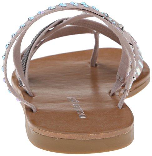887865309000 - Madden Girl Women's Hoffmen Dress Sandal, Taupe Fabric, 9 M US carousel main 1