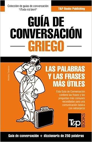 Guía De Conversación Español Griego Y Mini Diccionario De