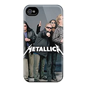 Excellent Iphone 6plus Cases Covers Back Skin Protector Metallica