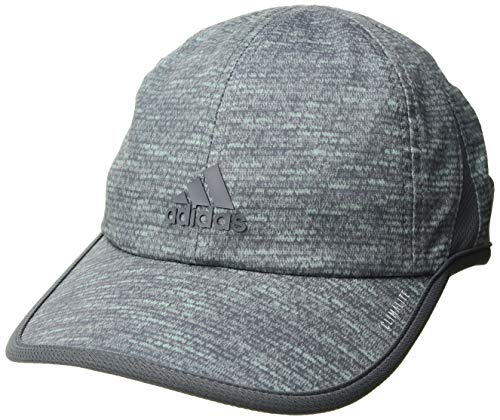 (adidas Women's Superlite Pro Relaxed Adjustable Cap, Clear Mint Jersey Fleck/Onix, One Size)