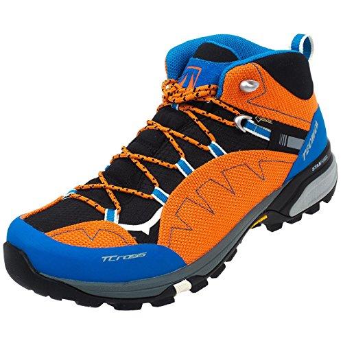 Tecnica outdoor Bota t/cross mid synthetic gtx naranja/azul No