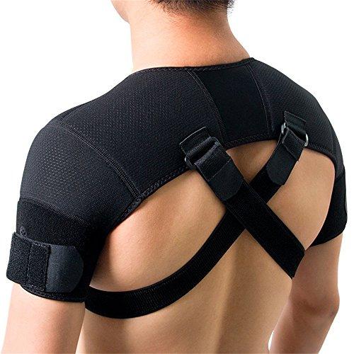 [Sports Safety Double Shoulder Brace X-large] (Costumes Braces)