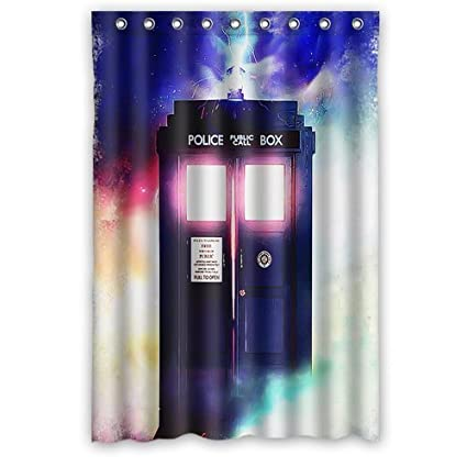 LIBIN Scottshop Custom Doctor Who Tardis The Shower Curtain Waterproof Polyester Fabric Bathroom Curtains