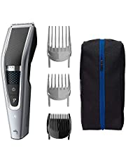 Philips Washable Hair Clipper Series 5000 with 28 Length Settings (0.5-28mm) & 90 min Cordless Use/1hr Charge, HC5630/15