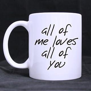 All Of Me Ama tutti voi tazze divertente regalo di matrimonio per la sposa