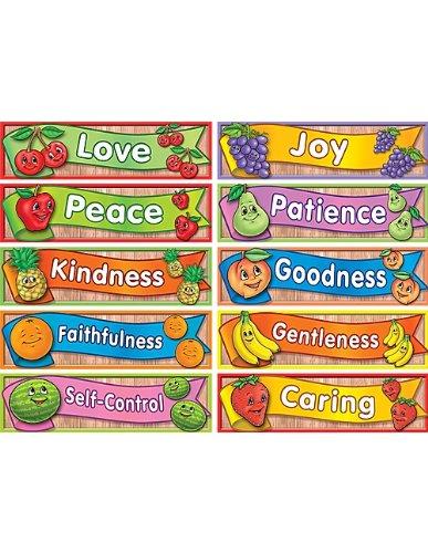 Teacher Created Resources Fruit of The Spirit Headliners (7075)