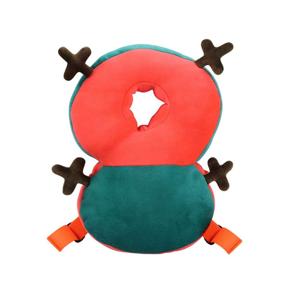 Der 27x5.5x20CM Verletzt Wird Hangarone Baby-Kopfschutz-Kissen Justierbares S/äuglingssicherheits-Auflage-Kissen Verhindern Kopf