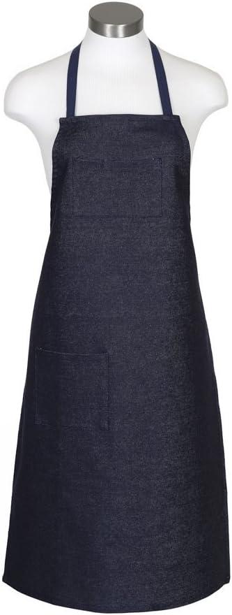 Men's Vintage Workwear Inspired Clothing ERB 18004 F4 Denim Shop Apron  AT vintagedancer.com