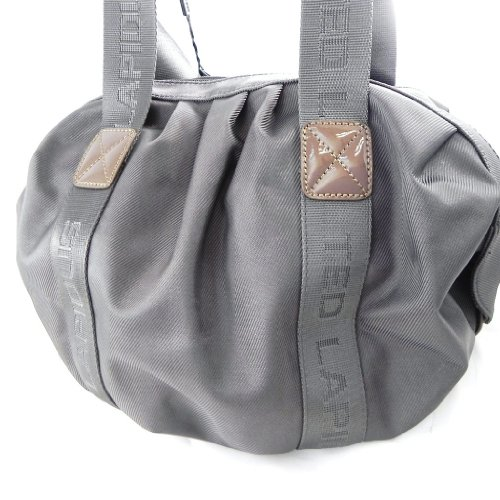 Ball bag 'Ted Lapidus' taupe.