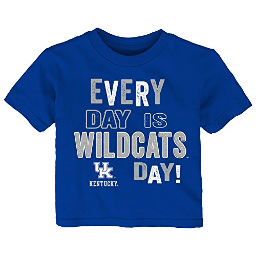 Wildcats Toddler Everyday Short Sleeve Tee, 4T, Royal ()