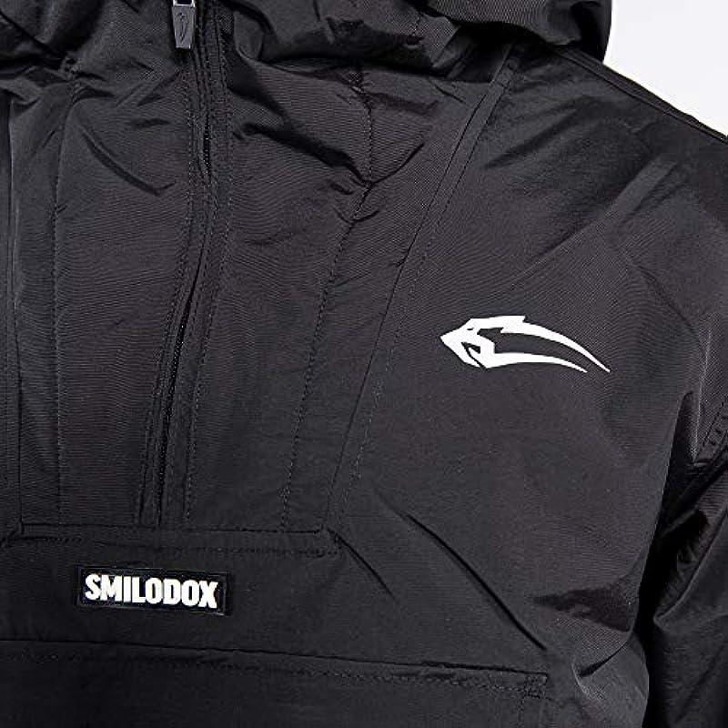 SMILODOX Męskie Winterjacke Storm   Jacke für Sport Fitness & Freizeit   Sportjacke mit Aufdruck: Odzież