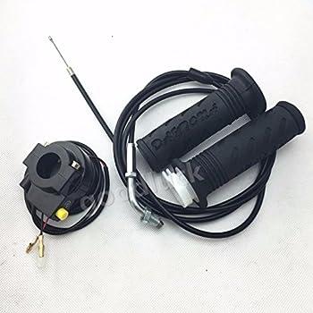 Amazon.com: 75 inch Gas Scooter Cable de acelerador 33 cc 43 ...