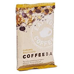 New Grounds Food Caramel Macchiato Coffee Bar, 1.6 oz