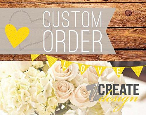 Custom listing for Manuel Carrera - RUSH invoice - Carrera Design