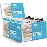 Optimum Nutrition Protein Cake Bites, Whipped Protein Bar, Flavor: Birthday Cake, 12 Count