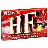 Cassette audio (pour lecteur cassette) Sony HF 90 minutes