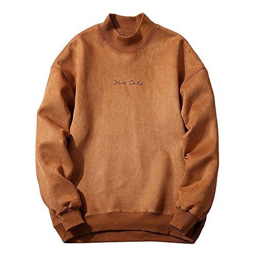 british khaki mens sweaters - 5