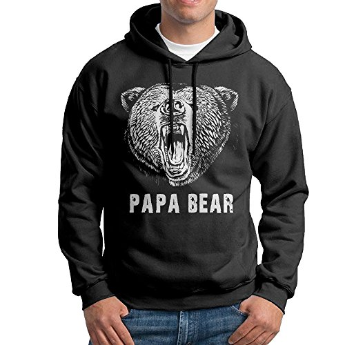 papa-bear-college-hoodies-sweatshirts-mans-black