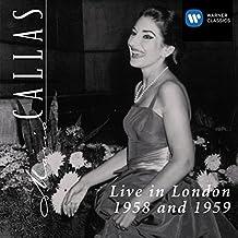 Maria Callas LIve in London 1958 & 1959