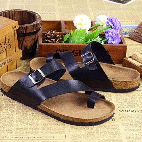 Ciabatte Eleganti Pantofole Nero Comodi Adulto Unisex Infradito ZhuiKun Sandali H4vqYU4w
