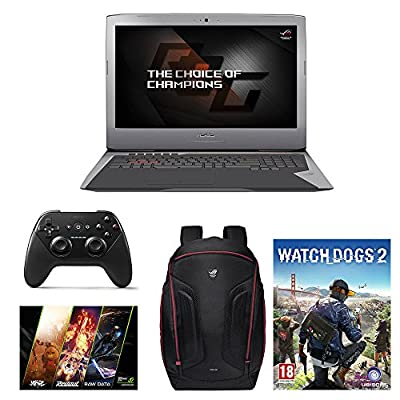 "ASUS ROG G752VY 17.3"" Gaming Laptop Bundle - Core i7-6700HQ, 16GB Memory, GTX980M 4GB DDR5, 1TB HDD, 128GB SSD, Win 10 + Gaming Bundle"