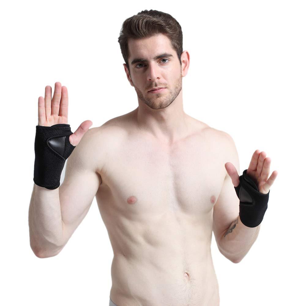 Tgzme Wrist Straps Support Braces Wraps Protectors Thumb Loops Adjustable Wrist Strap Professional Fits Men & Women