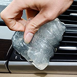 1 PC Car Clean Tool Auto Universal Cyber Super Clean Glue Car Cleaning Sponge Products Microfiber Dust Tools Mud Gel Goods car gadget free shipping