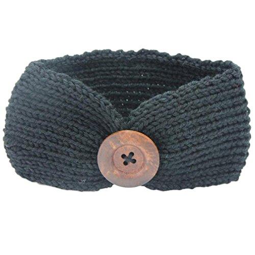 Ecosin Newborn Baby Knitting Hairband