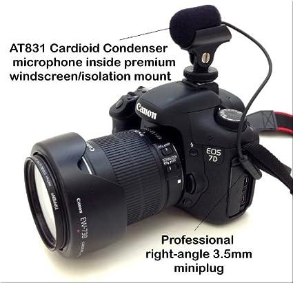AT831 Audio Technica - Micrófono cardioide para montar en una ...