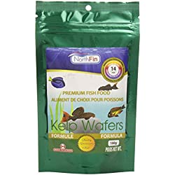 Northfin Food Kelp Wafers 14mm Pellet 100 Gram Package