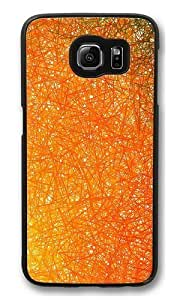 Abstract line PC Case Cover for Samsung S6 and Samsung Galaxy S6 Black