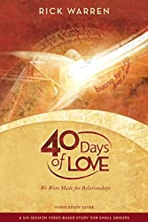 40 Days of Love Study Guide: We Were Made for Relationships