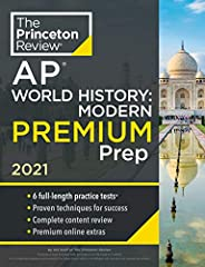 Princeton Review AP World History: Modern Premium Prep, 2021: 6 Practice Tests + Complete Content Review + Str