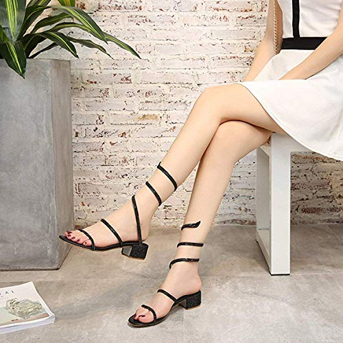 The Verano 34 Los Para Sandalias Versión Riveted Mujeres De Zapatos Cat Moda Con Blackblackdiamond color Femeninos Nature Todos Coreana Tamaño Cómodos Word Jincosua EwBCXqc