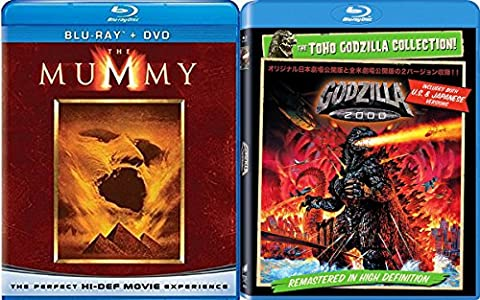 The Cult Monsters Blu-ray Collection: The Mummy & Gorilla 2000 2-Movie Bundle - Creek Cocktail