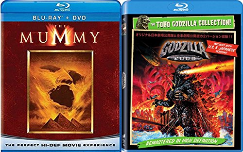 The Cult Monsters Blu-ray Collection: The Mummy & Gorilla 2000 2-Movie Bundle
