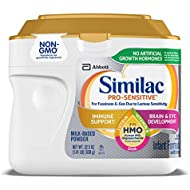 Similac Pro-Sensitive Infant Formula With 2'-Fl Human Milk Oligosaccharide (hmo) for Immune Support, 22.5 Oz