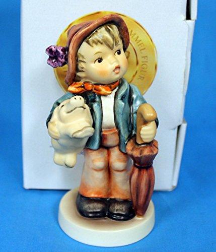 Hummel Goebel 335 - Lucky Boy Boy with pig and umbrella