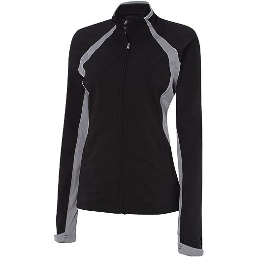 97ec387b8 Amazon.com: adidas Golf Womens Climaproof Tour Softshell rain Jacket,  Black/Mid Grey S, X-Large: Clothing