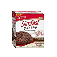 SlimFast Bakeshop, Double Chocolate Chip Cookie, 4 Count