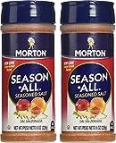 Morton Salt Season-All Seasoned Salt, 8 oz, 2 pack