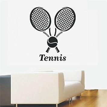 Zyzdsd Tenis Deportes Tatuajes De Pared Pelota De Tenis Etiqueta ...