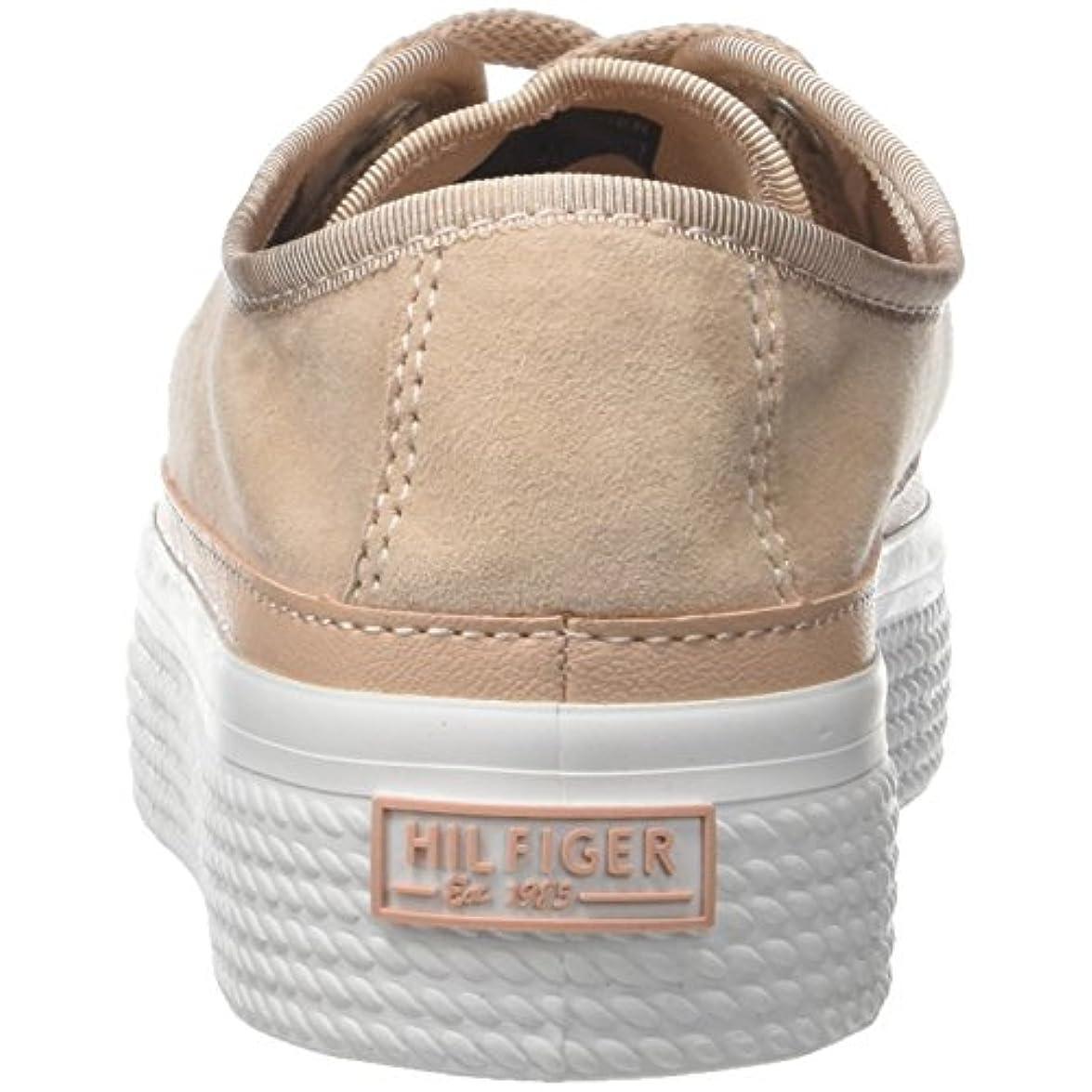 Tommy Hilfiger Suede Flatform Sneaker Scarpe Da Ginnastica Basse Donna